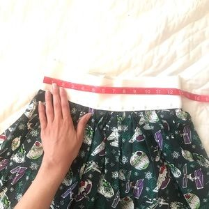 Skirts - Star Wars Christmas skirt handmade